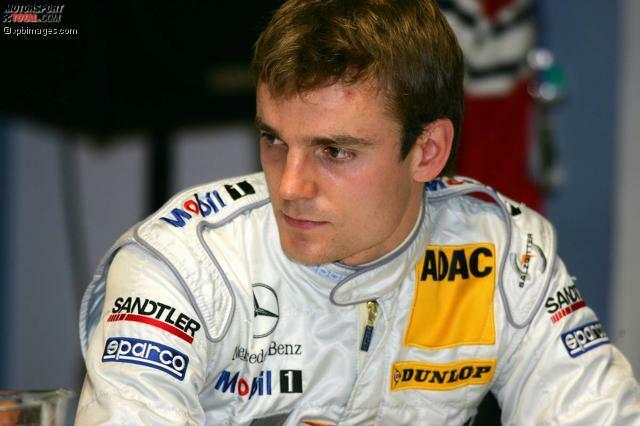 29. März 2005, Spa-Francorchamps (Belgien): Der 22-jährige Jamie Green wird in den Mercedes-DTM-Kader berufen und steht vor seiner ersten Saison im