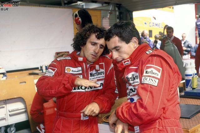 Duell Nr. 1: Alain Prost & Ayrton Senna (McLaren, 1988 bis 1989)