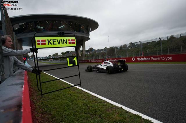 Kevin Magnussen (McLaren-Mercedes MP4-29) / 162 Runden / 1:23.276 Minuten (Donnerstag) Der Däne zeigte einen starken Auftakt im neuen Umfeld. Magnussen agierte abgeklärt und zündete bei seiner Wochenbestzeit am Donnerstag schon einmal eine Portion