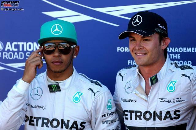 Paukenschlag im Monaco-Qualifying 2014: Nico Rosberg verbremst sich in Mirabeau, löst gelbe Flaggen aus, verhindert Zeitenverbesserungen seiner Konkurrenten - und holt somit vor Mercedes-Teamkollege Lewis Hamilton die Pole-Position. Absicht oder nicht? Hamilton, stinksauer, glaubt ja, die FIA-Rennkommissare sagen nein.