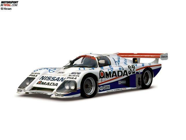Nissan tauchte erstmals 1986 werksseitig in Le Mans auf. Man schickte zwei Fahrzeuge in den Klassiker. Der hier abgebildete R85V schaffte es auf Gesamtrang 16, der zweite Wagen fiel aus.