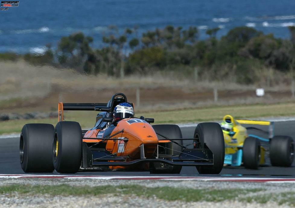 Will Power, geboren am 01.03.1981 im australischen Toowoomba, arbeitet sich in den lokalen Nachwuchsklassen nach oben. Hier 2002 in der australischen Formula Holden.