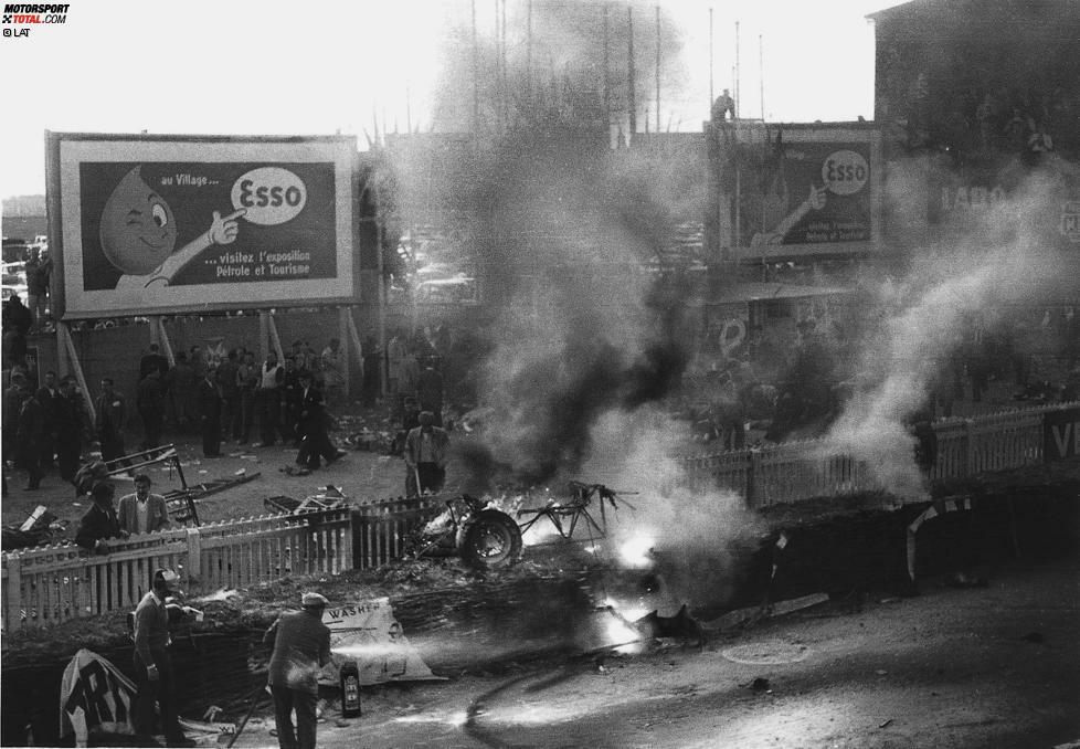 Vier Jahre später steht Pedralbes wieder auf dem Programm, doch es heult nie ein Motor auf. Nach der Le-Mans-Tragödie von 1955 um den Unfall von Pierre Levegh, die dem Fahrer und 80 weiteren Menschen das Leben kostet, wird das Rennen wegen Sicherheitsbedenken abgesagt. Der 6,316 Kilometer lange Straßenkurs, der nur sechs Kurven hat und auf einer langen Geraden höllisches Tempo zulässt, wird von der Formel 1 nie wieder befahren.