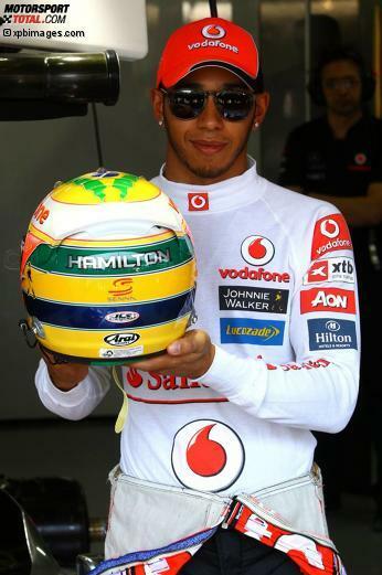 A wie Ayrton Senna: Hamiltons Held.