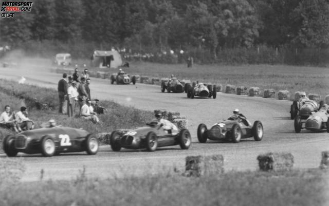 Geboren 1898 in Budduso auf Sardinien, war Clemente Biondetti schon vor dem zweiten Weltkrieg mehr an Straßen-, als an Rundstreckenrennen interessiert. So gewann er viermal die traditionelle Mille Miglia und nahm auch dreimal an den 24 Stunden von Le Mans teil. 1950 bastelte er sich einen Boliden zusammen, mit dem er beim Grand Prix von Italien in Monza antrat. Sein einziger Formel-1-Einsatz dauerte nur 17 Runden.