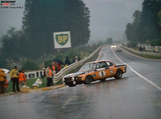 1972: Kelleners/Pankl - BMW Alpina (hier beim 24-Stunden-Rennen in Spa-Francorchamps)