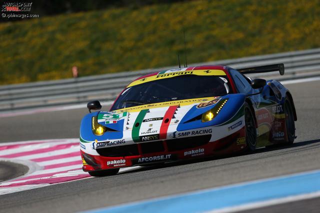 AF Corse Ferrari 458 Italia #51: Gianmaria Bruni (ITA), Toni Vilander (FIN), Giancarlo Fisichella (ITA)