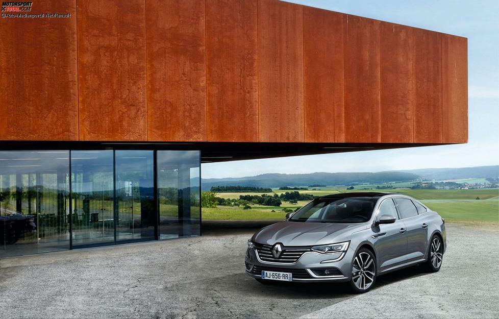 Renault bringt im Januar den Talisman zu den deutschen Händlern. Die Maße der Die coupéhafte Mittelklasse-Limousine...