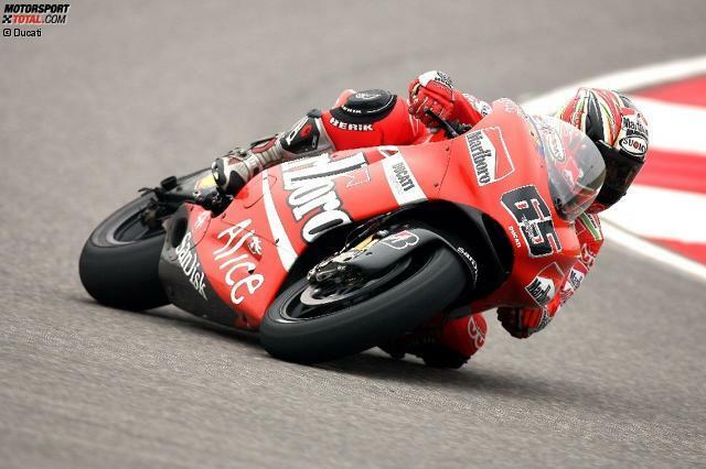 #10: Loris Capirossi. Zwischen 2003 und 2007 gelingen dem Italiener auf der Ducati Desmosedici sieben Siege. 2008 folgt der Wechsel zu Suzuki, wo Capirossi in drei Jahren allerdings kein weiterer Erfolg mehr gelingt. Nach einer weiteren durchwachsenen Saison bei Pramac verabschiedet sich der heutige Sicherheitsbeauftragte Ende 2011 aus der Königsklasse.