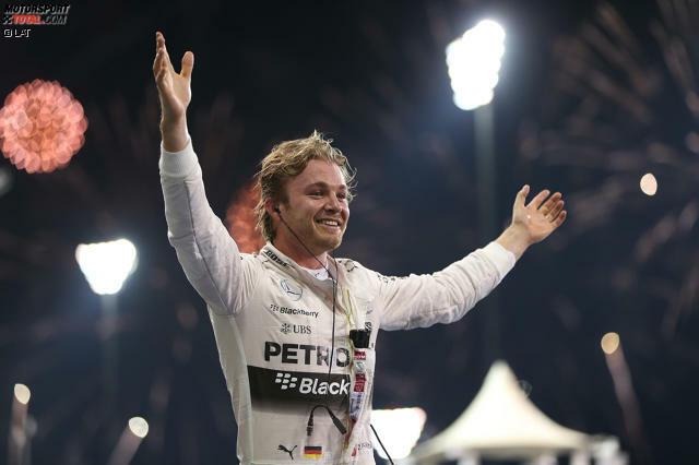 Der erste Hattrick und der insgesamt 14. Grand-Prix-Sieg seiner Karriere: Auf den Tag genau 40 Jahre nach dessen Tod (Hubschrauberabsturz) zieht Nico Rosberg in der ewigen Bestenliste mit dem zweimaligen Weltmeister Graham Hill gleich. Aber nach dem Rennen stichelt Mercedes-Teamkollege Lewis Hamilton: