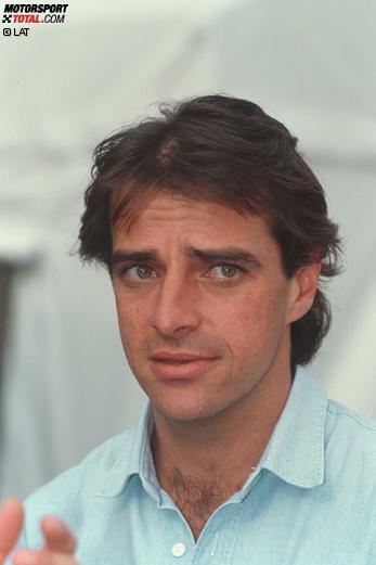 #10: Alessandro Nannini (Italien). Der Bruder von Popstar Gianna Nannini kommt 1993 mit Alfa Romeo in die DTM. Dort wird er rasch heimisch: In vier Jahren bringt es Nannini auf 14 Siege und 19 Podestplätze, kommt aber nie über den dritten Platz in der Gesamtwertung hinaus.
