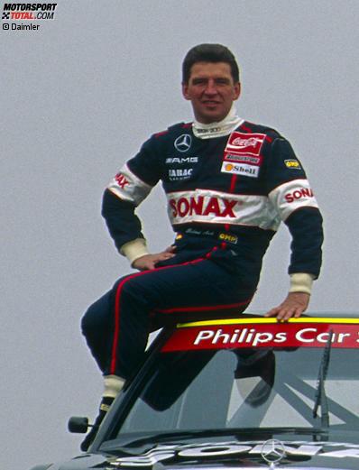 #10: Roland Asch (Deutschland) - 13 Jahre, 2 Monate zwischen Hockenheim 1984 und Oschersleben 2000 (abzüglich der DTM-losen Jahre 1997-1999)