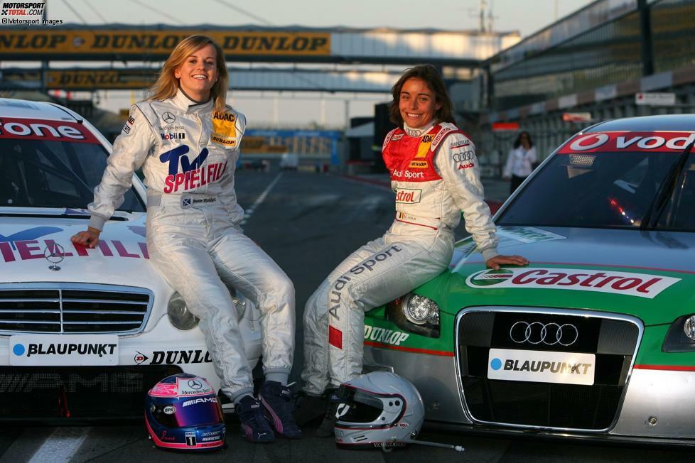 Frauen in der DTM. Ja, das gab's! Seit 1984 traten bisher sogar elf Fahrerinnen in der Rennserie an. Und eine von ihnen gewann sogar ein Rennen. Alles Weitere erfahren Sie in unserer Fotostrecke!