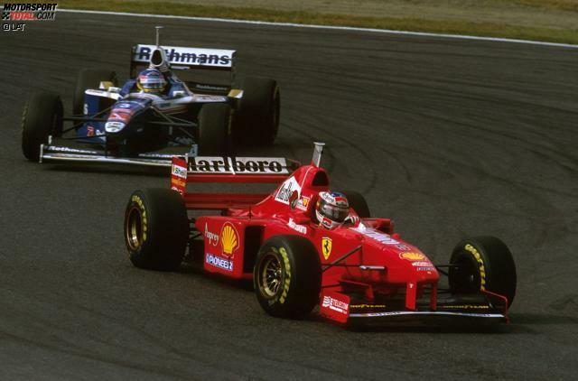 1997: Williams-Pilot Jacques Villeneuve hat nach neun von 17 Rennen der Saison vier Punkte Rückstand auf Ferrari-Pilot Michael Schumacher, was einem prozentualen Rückstand von neun Prozent entspricht. Als nach 17 Saisonrennen abgerechnet wird, hat Villeneuve drei Punkte Vorsprung auf Schumacher. Dass dem Deutschen für das Foul beim Saisonfinale in Jerez de la Frontera rückwirkend alle Punkte aberkannt werden, tut bezüglich der von Villeneuve hingelegten Aufholjagd nichts zur Sache.