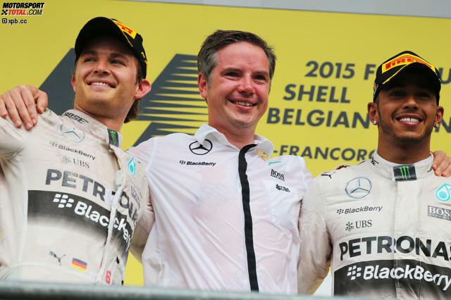 Formel 1 Spa 2015 Hamilton Siegt Vettel Tobt Nach Ausfall