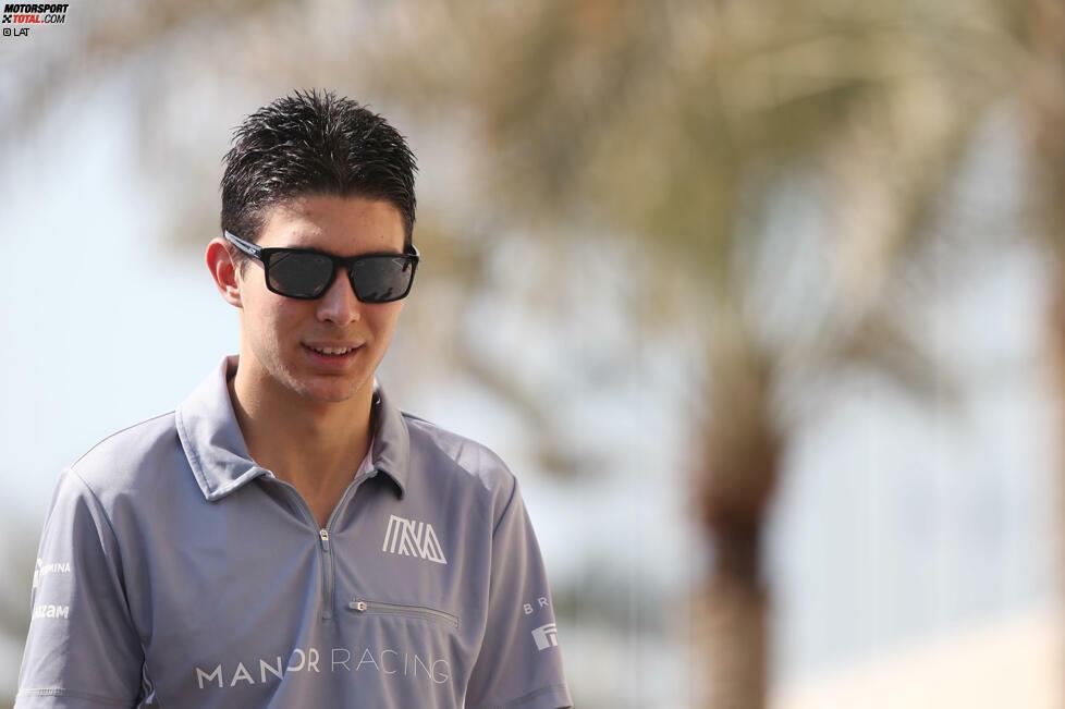 #10: Esteban Ocon. Manchmal geht es schneller als erwartet. Eigentlich soll der Franzose 2016 die komplette DTM-Saison absolvieren, doch weil Rio Haryanto sein Cockpit bei Manor Mitte der Saison nicht mehr finanzieren kann, zieht Mercedes seinen Juniorpiloten in die Formel 1 hoch. Alter beim ersten Start in Spa: 19 Jahre und 346 Tage.