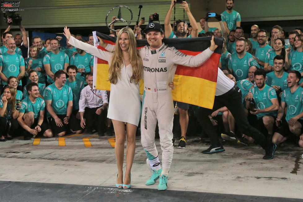 Die Krönung einer großartigen Laufbahn: Nico Rosberg lässt sich als Formel-1-Weltmeister feiern, kurz darauf beendet er seine Karriere. Wir blicken zurück auf die Anfangstage eines Champions.