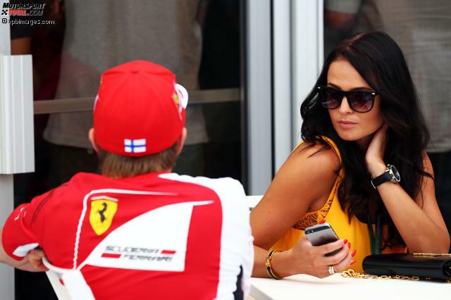 Ein Baby für den Iceman. Im Januar 2015 brachte Kimi Räikkönens Freundin Minttu Virtannen einen gesunden Jungen zur Welt. Damit gehört Räikkönen nun zum recht exklusiven Kreis der Väter im Starterfeld der Formel 1.