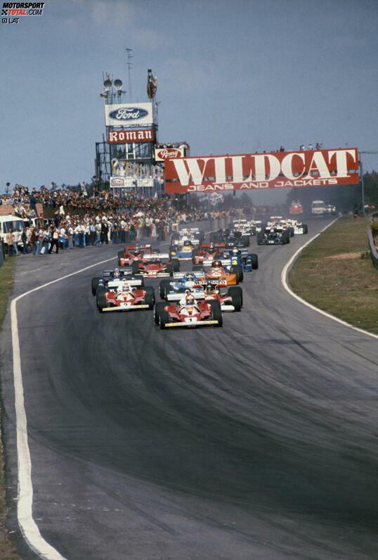 Zunächst wechselte sich Nivelles jedes Jahr als Austragungsort mit Zolder ab. Von 1975 bis 1982 war Zolder dann alleiniger Austragungsort. 1983 kehrte die Formel 1 nach Spa-Francorchamps zurück, 1984 war dann wieder Zolder Schauplatz des Rennens. Seitdem ist die Formel 1 mit Ausnahme der Jahre 2003 und 2006 in Spa gefahren.