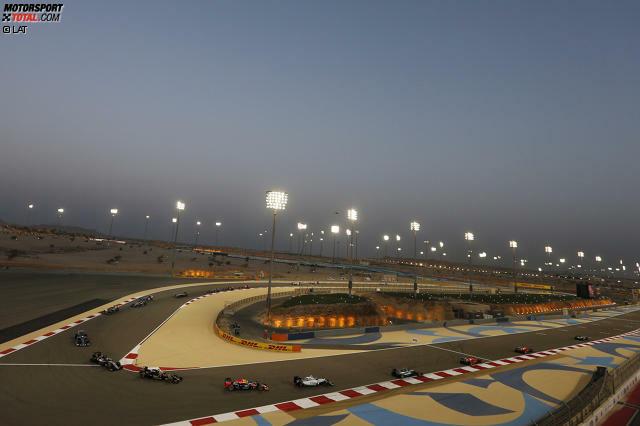 Der Bahrain-Grand-Prix findet zum zwölften Mal statt. Zum ersten Mal wurde 2004 hier gefahren, 2011 wurde das Rennen abgesagt. 2010 wurde das Rennen auf dem längeren