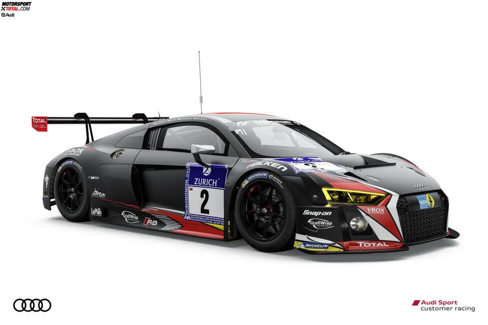 #2 (Belgian Audi Club Team WRT), Robin Frijns/Stuart Leonard/Edward Sandström/Frederic Vervisch