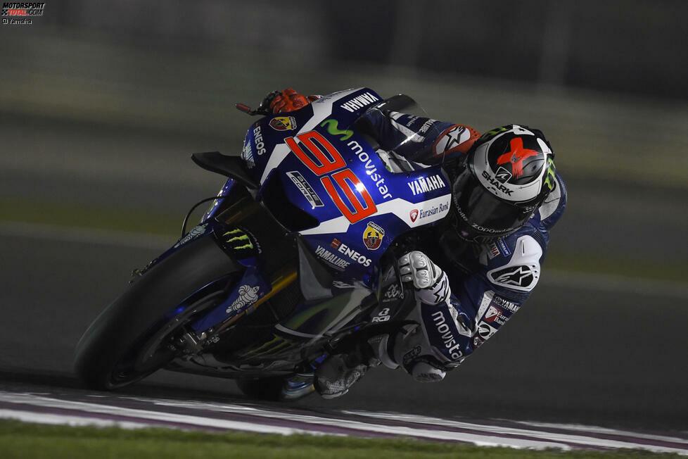 1: Die Startnummer des Champions fehlt auch in diesem Jahr, weil Jorge Lorenzo weiter auf die 99 setzt. Der letzte Weltmeister, der sich die 1 auf sein Motorrad lackieren ließ, war Casey Stoner in der Saison 2012. Alle folgenden Champions entschieden sich gegen einen Wechsel der Startnummer.