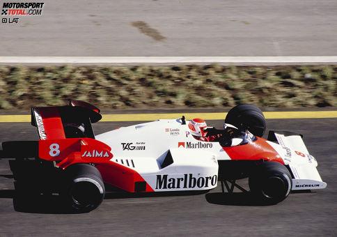 Platz 10: McLaren-TAG MP4/2 (Siegquote: 75 Prozent, Saison: 1984)