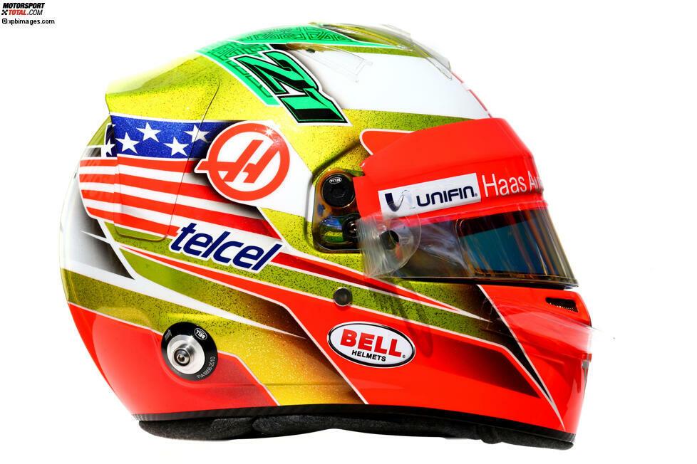 Esteban Gutierrez (Haas, #21)