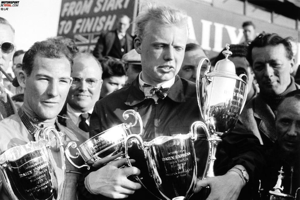 1958: Weltmeister Mike Hawthorn (1 Sieg), meiste Siege Stirling Moss (4)