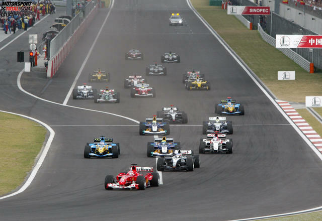 Der Große Preis von China wird zum 13. Mal ausgetragen. Das Rennen fand 2004 zum ersten Mal statt und stand seitdem immer im Kalender.