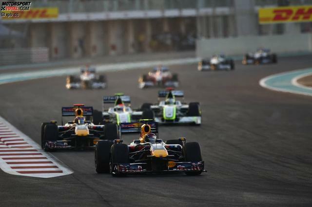 Das Saisonfinale 2016 wird der achte Grand Prix von Abu Dhabi sein. Der Austragungsort kam 2009 neu in den Formel-1-Kalender. Das erste Rennen auf dem Yas Marina Circuit gewann Sebastian Vettel (Foto), damals noch im Red Bull.