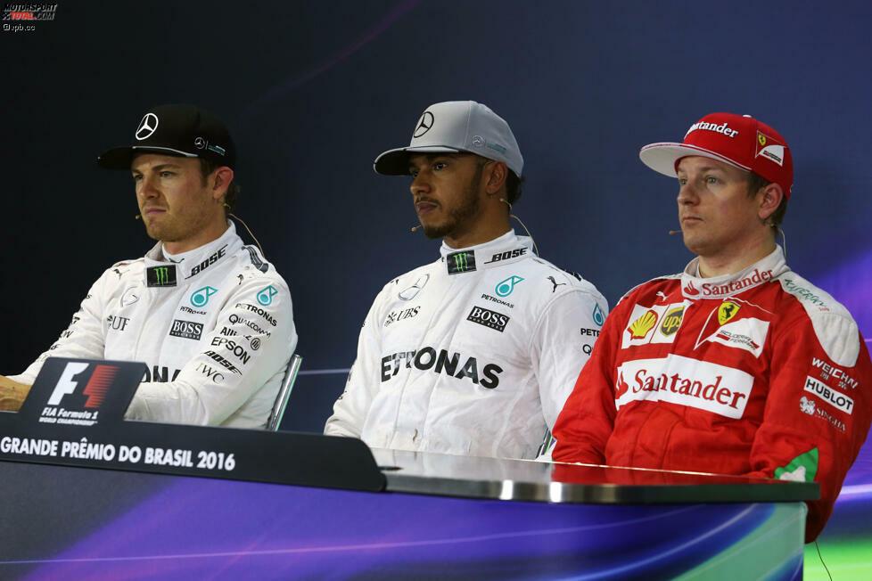 Qualifying auf höchstem Niveau: Rosberg führt bis zur allerletzten Zwischenzeit, muss sich dann aber doch knapp beugen, weil er zu schnell in die letzte Kurve fährt und ihm am Ausgang die Traktion fehlt. Der drittplatzierte Kimi Räikkönen auf Ferrari hat sieben Zehntelsekunden Rückstand auf den Mercedes-Express.