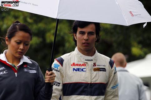 Platz 10: Sergio Perez (114 Starts, 7 Podestplätze, seit 2011)