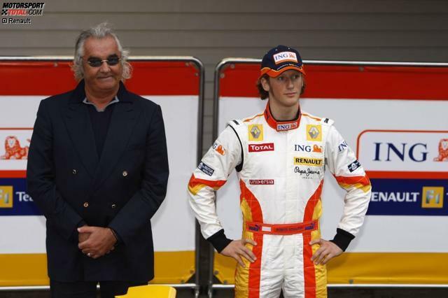 Platz 10: Romain Grosjean (123 Starts, 10 Podestplätze, seit 2009)