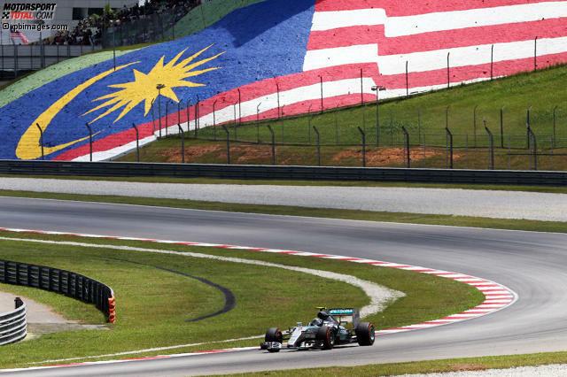 Tropenhitze, hohe Luftfeuchtigkeit und die leckersten Currys des Formel-1-Jahres: Dafür war der seit 1999 ausgetragene Malaysia-Grand-Prix in Sepang immer bekannt. 2016 präsentiert der Kurs 60 Kilometer vor den Toren der Hauptstadt Kuala Lumpur eine neue Herausforderung: Es wurde kräftig umgebaut.