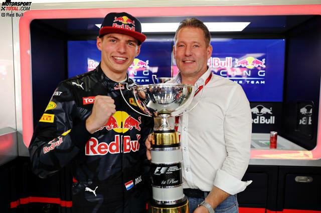 Mit vier Jahren schenkte ihm Papa Jos (übrigens entgegen anderslautender Medienberichte immer noch sein Manager) sein erstes Go-Kart, jetzt ist er mit 18 Jahren und 227 Tagen jüngster Grand-Prix-Sieger aller Zeiten: Max Verstappen.