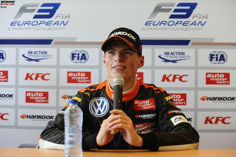 Vom Dreikäsehoch zum gefeierten Nachwuchsstar: Max Verstappen legt eine steile Karriere in der Formel 1 hin. In Austin feiert er seinen 100. Grand Prix. Wir blicken zurück auf eine Laufbahn im Raketentempo.