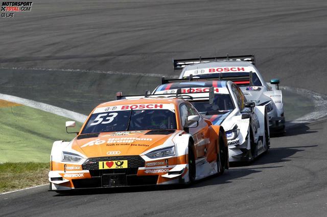 Rennen 2 2017: Dreimal gewinnt Audi-Pilot Jamie Green am Lausitzring - zuletzt 2017.