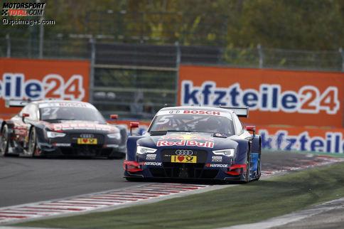 Mattias Ekström (Abt-Audi) gewann zuletzt das Rennen auf dem Hungaroring vor den Toren Budapests.