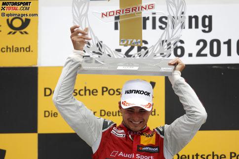 Norisring 2016, Rennen 2: Nico Müller (Abt-Audi) gewinnt das erste Rennen seiner noch jungen DTM-Karriere.