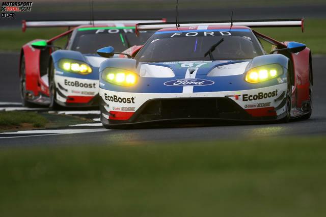 6 Stunden von Silverstone (GTE Pro): Priaulx/Tincknell/Derani (Ford Chip Ganassi Racing; Ford GT)