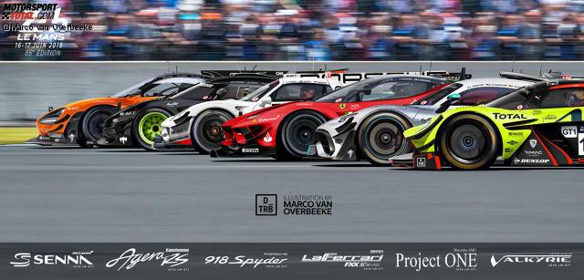 Das Starterfeld bei den 24 Stunden von Le Mans in den 2020er-Jahren?
