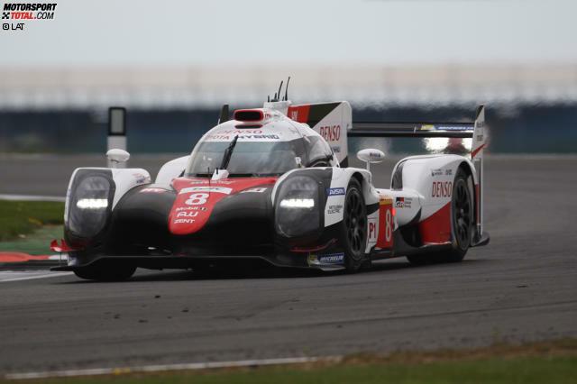 6 Stunden von Silverstone: Davidson/Buemi/Nakajima (Toyota TS050 Hybrid)