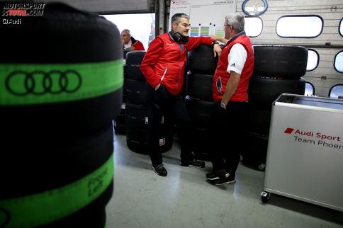 Ernst Moser ist der erste Ansprechpartner bei Phoenix für Audi-Motorsportchef Dieter Gass.