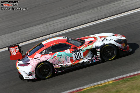 Ukyo-Mercedes #00 (Taniguchi/Kataoka/Kobayashi)