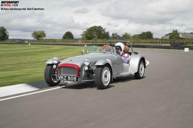 Nach dem Seven Sprint bringt Caterham aus Anlass seines 60-jährigen Bestehens noch den Seven Super Sprint.