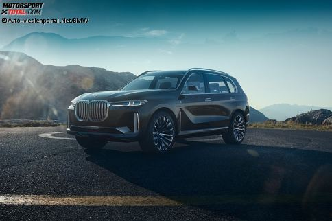 BMWs Zukunfts-SUV-Konzept Concept X7 iPerformance