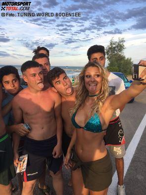 Hoch oben in den Dolomiten, in Pescara am Meer und in der Stadt der Gondeln, so vielfältig war das Shooting für die 16. Auflage des Miss Tuning Kalenders 2018 in Italien.