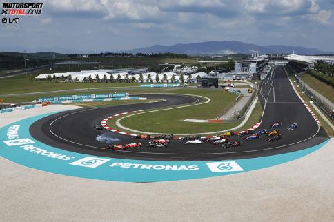 Der Grand Prix von Malaysia wird zum 19. Mal ausgetragen, allerdings für absehbare Zeit zum letzten Mal. Das Rennen debütierte 1999 und war seitdem immer Bestandteil des Formel-1-Kalenders, wobei alle Rennen in Sepang stattfanden. Im April dieses Jahres entscheid die malaysische Regierung dann, das Rennen 2018 nicht mehr auszutragen.