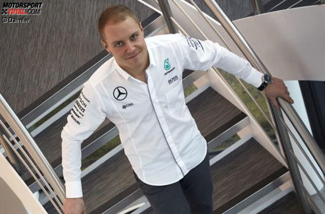Valtteri Bottas wird 2017 neuer Mercedes-Pilot. Für den Finnen ist die Verpflichtung bei den Silberpfeilen der bisherige Höhepunkt in einer steilen Karriere. Wir schauen zurück auf den motorsportlichen Lebensweg des Mannes, der 1989 in Nastola geboren wird.